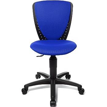 Blauer Schreibtischstuhl