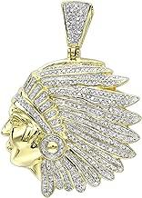 Best diamond pendant necklace gold indian Reviews