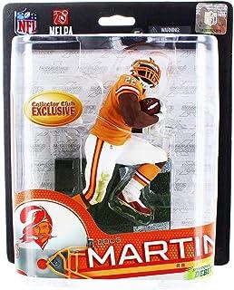 McFarlane Toys NFL スポーツピックシリーズ33 コレクターズクラブ 限定アクションフィギュア ダグマーティン(タンパベイ・バッカニアーズ) オレンジレトロユニフォーム