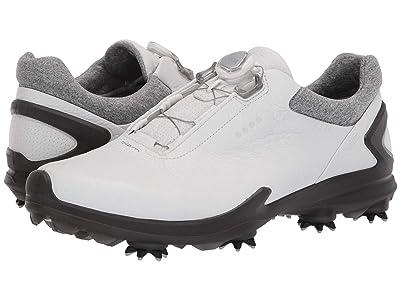 ECCO Golf BIOM G 3 Boa (Shadow White) Men