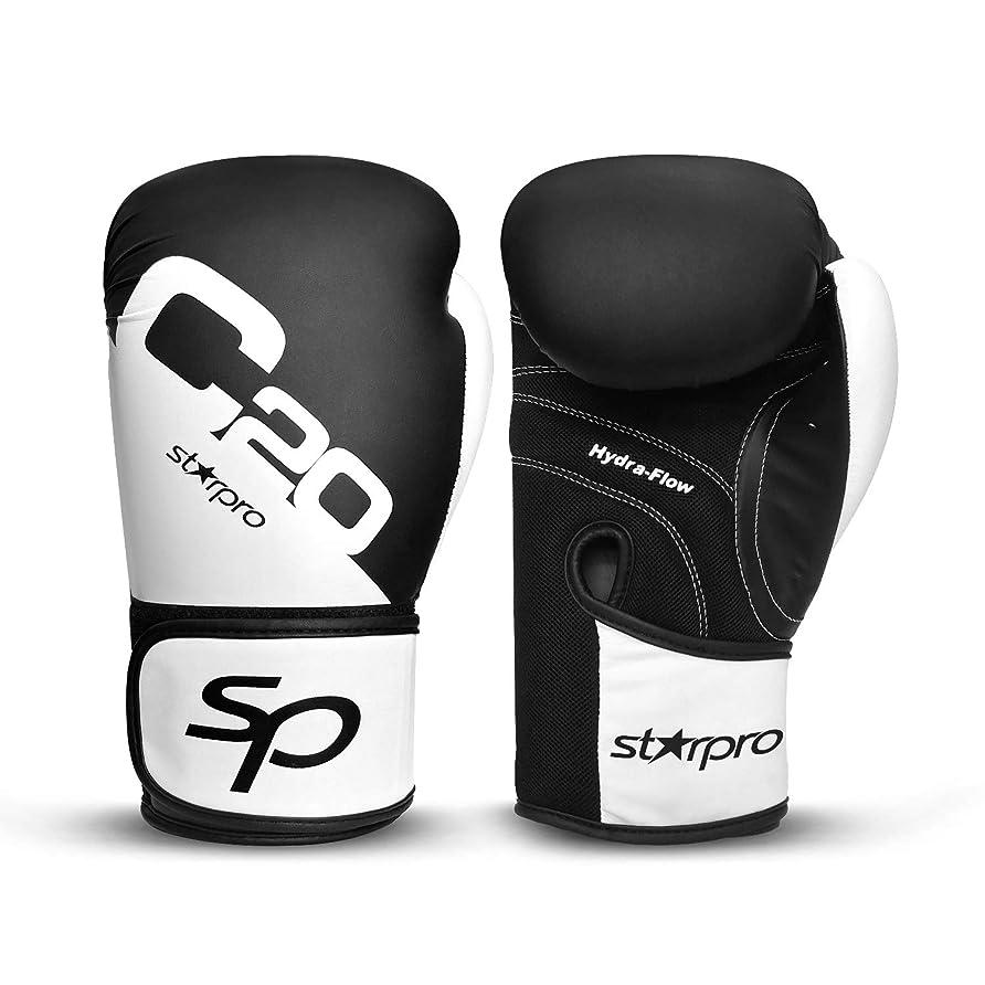 ナプキン警察疑いStarpro ボクシンググローブ キックボクシング バッグワークジェル スパーリングトレーニンググローブ ムエタイスタイル パンチングバッグ ミット ファイトグローブ メンズ&レディース