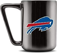 Duck House NFL Buffalo Bills Ceramic Coffee Mug - Metallic Black, 16oz