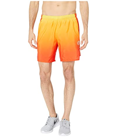Nike Challenger Shorts 7 PR (Orange Peel/Team Orange/Reflective Silver) Men