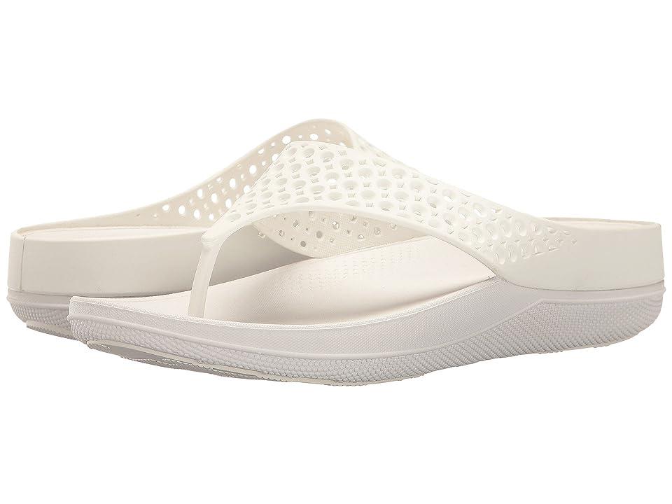 FitFlop Ringer Welljelly Flip-Flop (Urban White) Women
