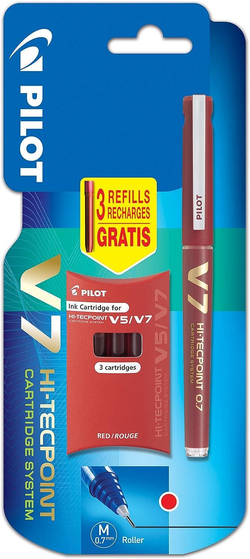 Max 64% OFF Pilot V7 Cartridge System Liquid Ink Rollerball Singl tip Popular overseas 0.7 mm