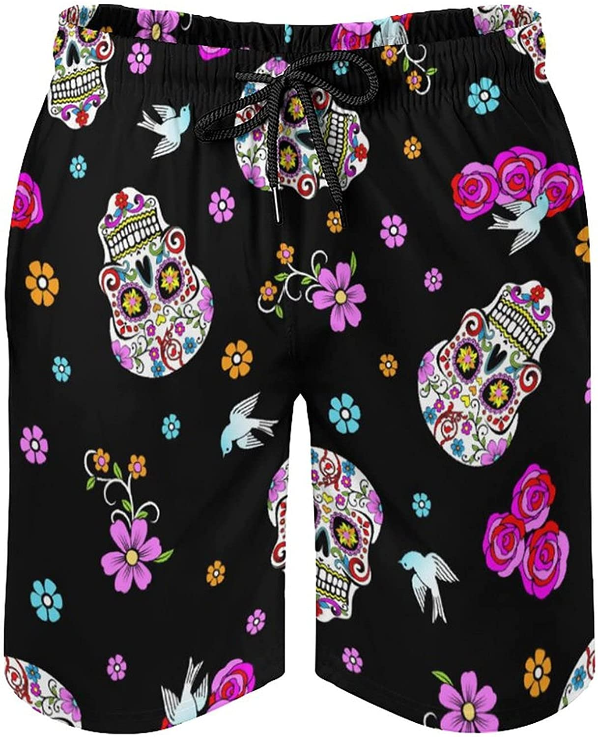 NiYoung Men's Quick Dry Swim Trunks Casual Board Shorts Summer Holiday Beach Short