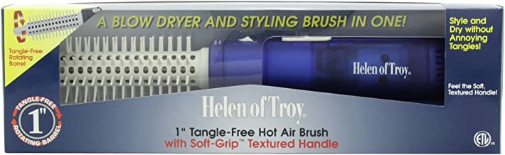 Helen of Troy 1574 Tangle Free Hot Air Brush, White, 1 Inch Barrel