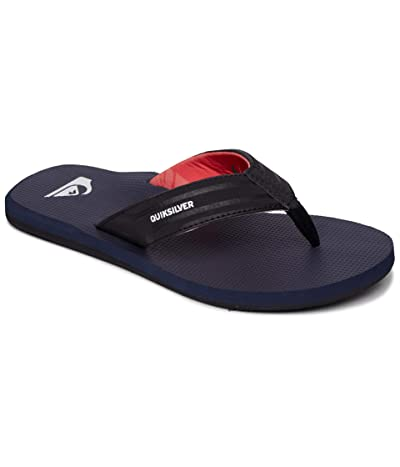 Quiksilver Island Oasis (Black/Blue/Red) Men