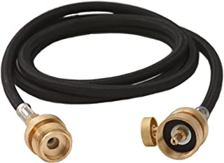 Flame King YSNMT48 Flexible 5 FT Extension Hose For 1Lb Propane Tank Cylinder