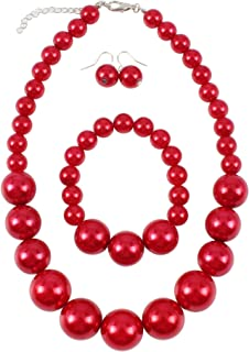 Best big ball necklace Reviews