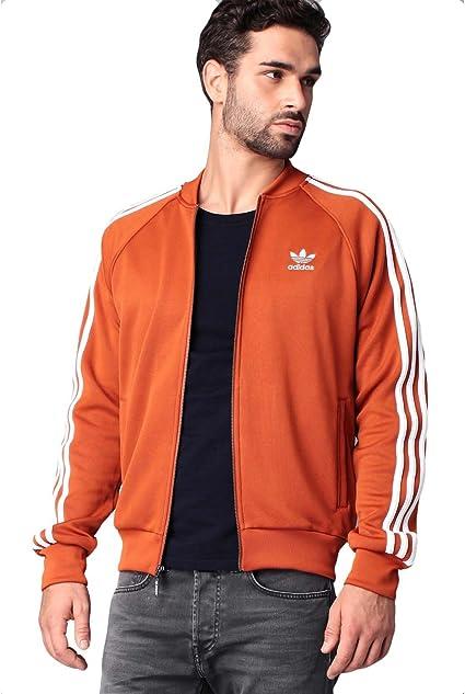 adidas - Veste de sport - Homme Orange orange weiß XXL : Amazon.fr ...