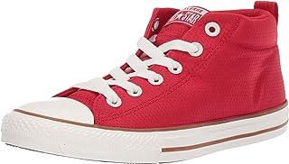 028e781bf6a Converse Kids' Chuck Taylor All Star Street Pinstripe Mid Top Sneaker
