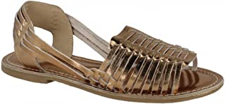 Womens/Ladies Weaved Slingback Sandals