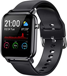 """COULAX Smart Watch, Fitness Tracker with 1.4"""" Touch Screen, Activity Tracker with Blood Oxygen..."""