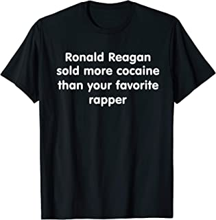 Ronald Reagan Sold More Cocaine Than Your Favorite Rapper