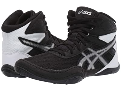 ASICS Kids Matflex 6 (Toddler/Little Kid/Big Kid) (Black/Silver) Kids Shoes