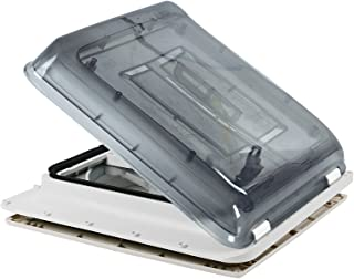 Fiamma Turbo Vent Crystal Polar Control - Claraboya con termostato para caravana o autocaravana (40 x 40 cm)