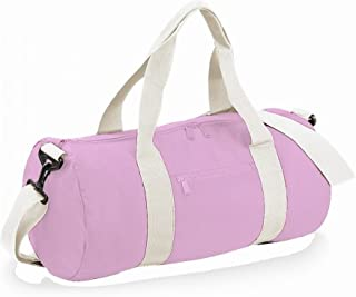 Bagbase Plain Varsity Barrel/Duffle Bag (20 Litres) (Pack of 2)
