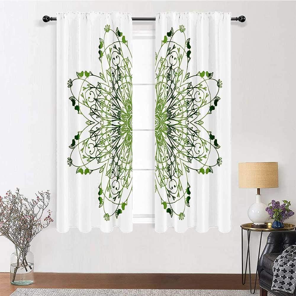 Popular product Patio Door Regular store Curtains 96 inch Length Rod Pocket Celtic Decor Curt