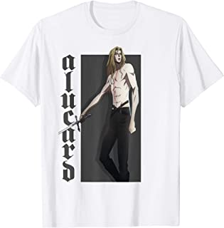 Netflix Castlevania Alucard Character Portrait T-Shirt