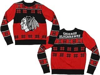 NHL Big Boys Youth Boys Ugly Crew Neck Team Sweater, Various Teams