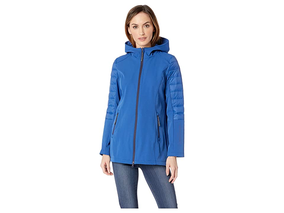 Ilse Jacobsen 3/4 Raincoat (True Blue) Women