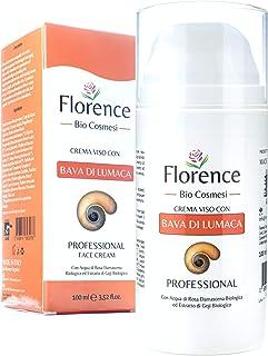 Grande 100ml. Bio Crema de Baba Caracol. Hidratante facial con Ácido Hialurónico y Vitamin C. 20+ Ingredientes Antiedad y ...