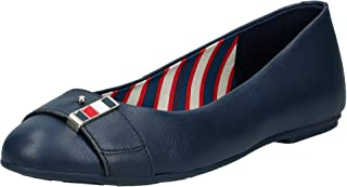 Tommy Hilfiger Corporate Hardware Ballerina, Women Ballet Flats