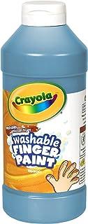 Crayola Fingerpaint, Blue, 32 Ounces, Washable Kids Paint, Ages 3+