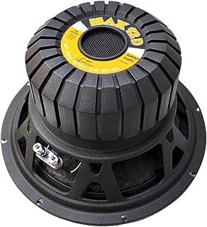 $53 » Lanzar 12in Car Subwoofer Speaker - Black Non-Pressed Paper Cone, Stamped Steel Basket, Dual 4 Ohm Impedance, 1000 Watt Po...