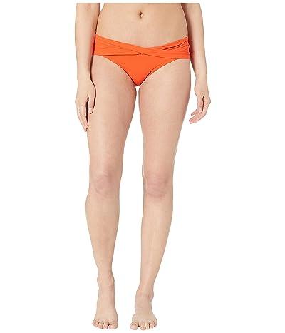 Robin Piccone Ava Twist Bikini Bottom (Sunrise) Women