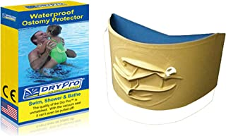 DryPro Waterproof Vacuum Sealed Ostomy Cover, Large