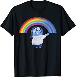 Disney Inside Out Sadness Rainbow Graphic T-Shirt