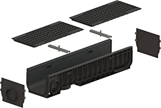Standartpark - 8 inch trench drain cast iron grate package mesh - PC8540