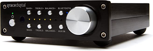 Grace Digital GDI-BTAR512N 100W Integrated Stereo Amplifier with Bluetooth Wireless Receiver (Black)