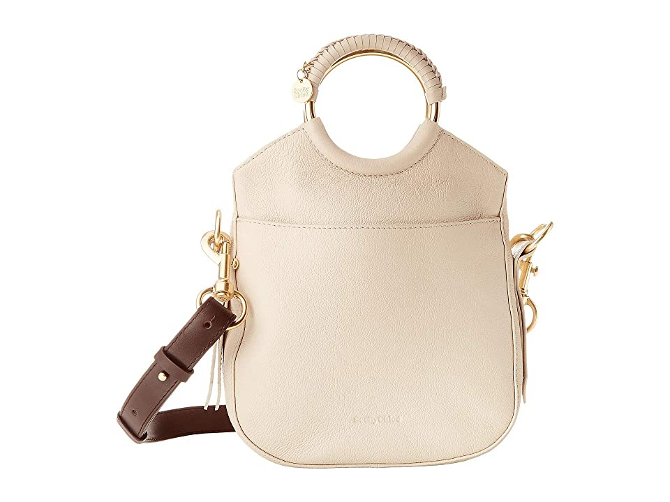 See by Chloe Monroe Small Bracelet Tote (Cement Beige) Tote Handbags
