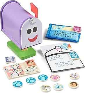 Melissa & Doug 33023 Blue's Clues & You Wooden Mailbox Play Set, Multi