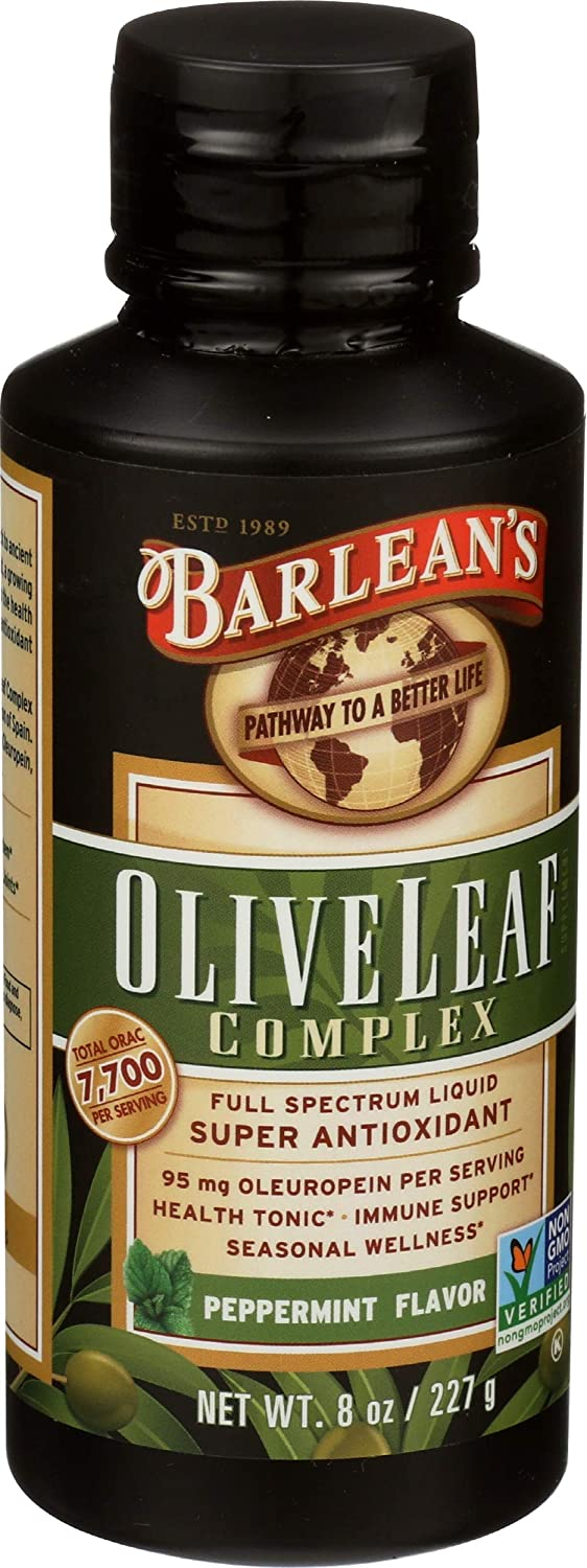 Barlean's Selling Manufacturer regenerated product and selling Organic Oils - Olive Complex 227 Leaf g