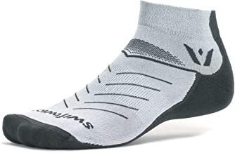 Swiftwick- VIBE ONE | Socks Built for Trail Running, All Day Comfort | Cushioned, Lightweight, Fast Dry Ankle Socks