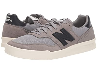 New Balance Classics CRT300v2 (Grey/Black Suede/Mesh) Men