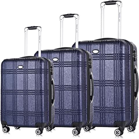 Travel Joy Expandable Spinner Luggage Set