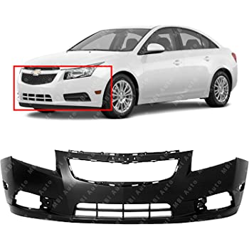 MBI AUTO Rear Bumper Cover for 2011-2015 Chevy Cruze with RS//Sport Package 11-15 Painted to Match GM1100874