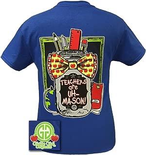 Teachers are Uh Mason Short Sleeve T-Shirt-Royal-Small