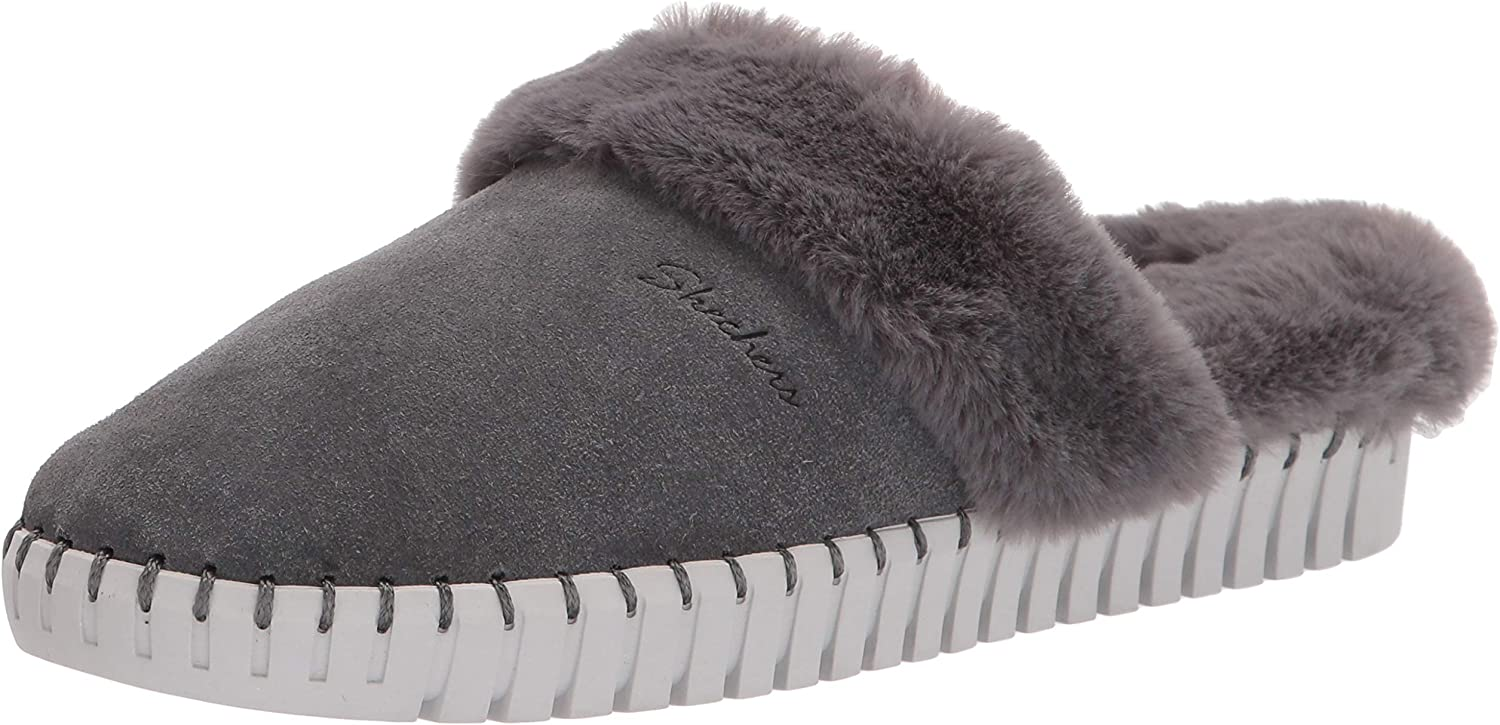 Skechers Brand new Women's New Shipping Free Shipping Sepulveda BLVD-Hang Lined Easy-Faux Fur Slipper