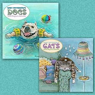 Calendars Patterson Dogs & Cats 2020 Magnetic Calendar Bundle Paper - Full Color Pages