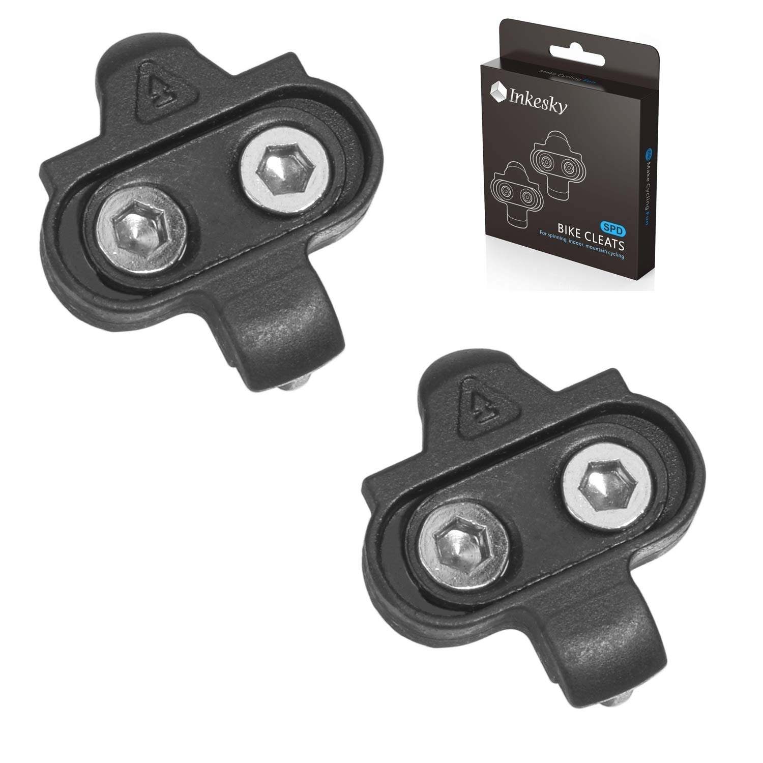 Bike Cleats Spinning Indoor Cycling /& Mountain Bike Cleat Set for SPD Bike Tools
