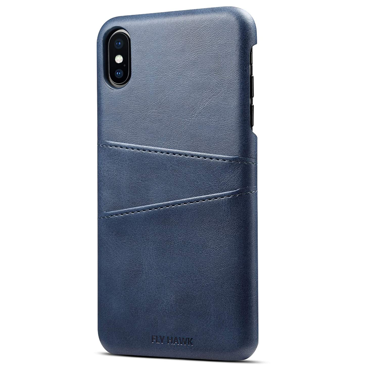 Slim Leather iPhone Wallet Case Back Case Cover With Credit Card Slots for Apple iPhone XS/X iPhone XS MAX iPhone XR