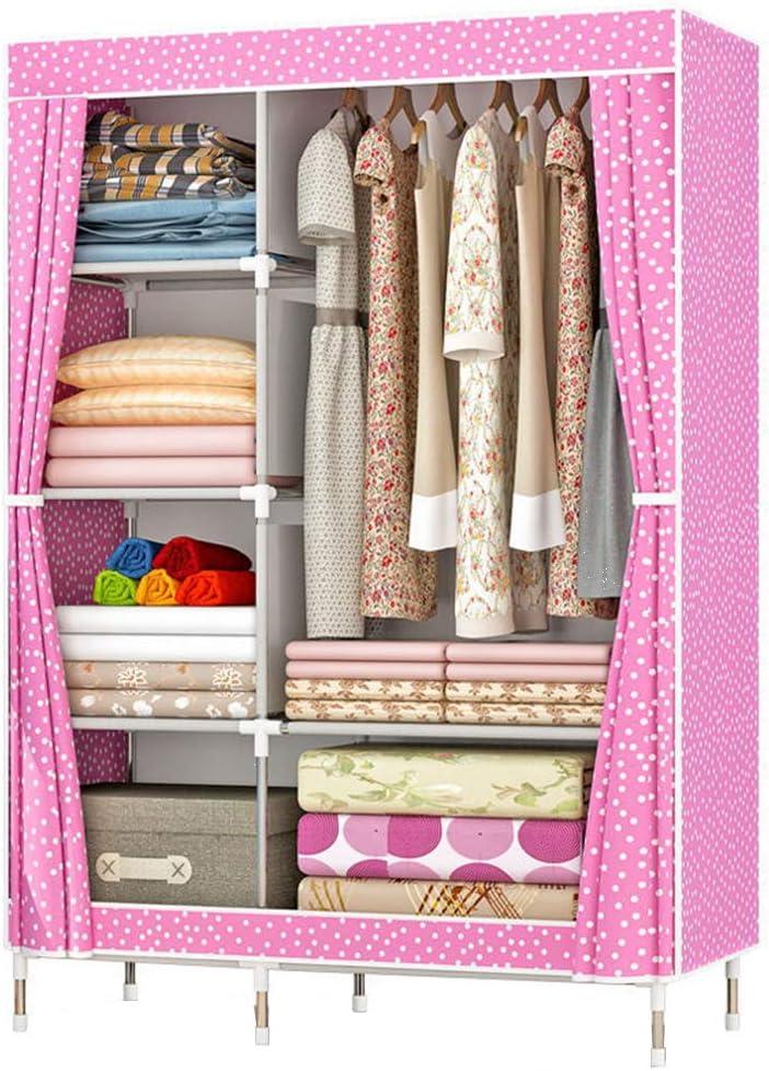 ZZBIQS Clothing Closet Wardrobe Garme Max 44% OFF Non-Woven Portable Fabric Discount mail order