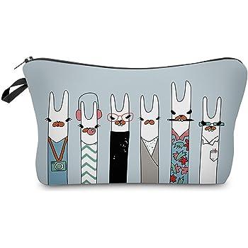 Cosmetic Bag for Women,NIUTA Adorable Roomy Makeup Bags Travel Waterproof Toiletry Bag Accessories Gifts