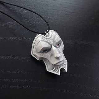 Jhin il Virtuoso maschera collana ciondolo in resina LOL